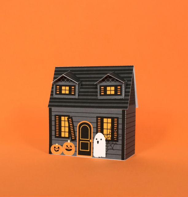 Haunted House Papercraft
